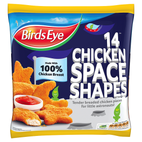 Chicken Space Shapes