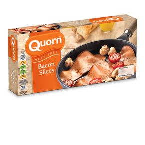 Quorn Meat Free Bacon Style Slices - UK Frozen Food