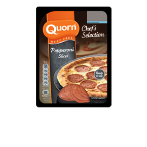 Quorn Meat Free Chef's Selection Pepperoni Style Slices