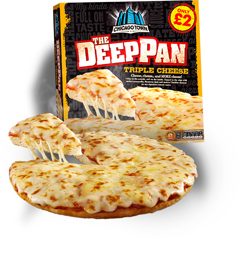 Chicago Town Triple Cheese Pizza Uk Frozen Food